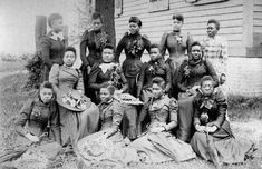 Spelman College in Atlanta, one of the oldest historically Black colleges for women, was established as the Atlanta Baptist Female Seminary in 1881. The school began with just 11 African American women, and after expanding, received support from John D. Rockefeller, eventually being renamed after his wife, abolitionist Laura Spelman.  (Photo shows Spelman grads in 1892)