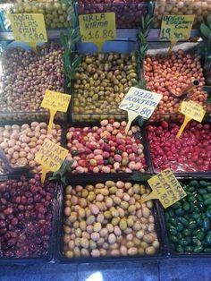 Zeytin - olives...