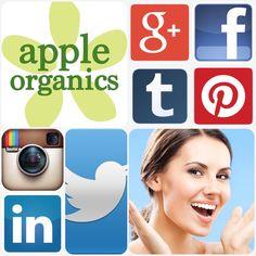 Can't get enough Apple Organics? Follow us on all our social media platforms! And visit shop.appleorganicsllc.com to learn more. #AnAppleADay #OrganicSkincare #AllNatural #Vegan #CrueltyFree #Beauty #SkinCare #SmallBatch #GreenBeauty #ecoSkincare #ShopSmall #GreenvilleSC #yeahTHATgreenville #HaveABeautifulDay #BeautifulSkinStartsHere #AppleOrganics