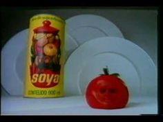 Comercial do tomate do óleo Soya.