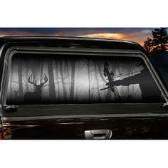 Hunting Rear Window Graphics F Wall Decal - Rear window hunting decals for trucksgeese scenery sticker for rear window hunting decals for trucks