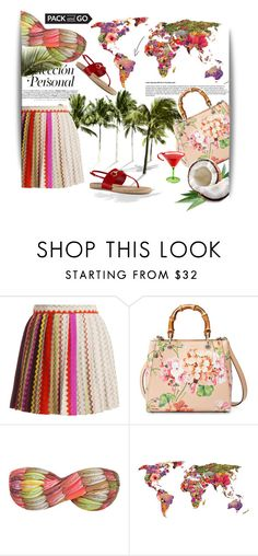 """""""Rio mood"""" by theitalianglam ❤ liked on Polyvore featuring Missoni, Gucci, Skinbiquini, gucci, missoni, Packandgo and bytheitalianglam"""
