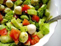 Avocado Salad, Fruit Salad, Cobb Salad, Cucumber, Tortellini, Mozzarella, Grilling, Bbq, Food And Drink