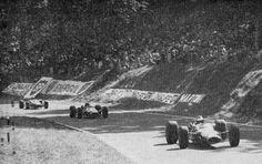 Rouen-les-Essarts - Clark leading the race