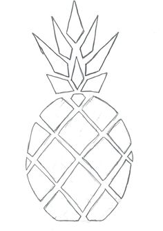 On en voit partout, mais moi, j'avais pas réussi à trouver le mien.... Alors, je l'ai fait, mon top de l'été.... mon top ananas!!!! ...