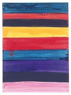 Mary Heilmann, West, 1996. Oil on canvas