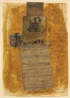 Hannelore Baron (1926-1987), Untitled, 1980. Mixed-media collage. 36.8cm H x 26cm W.