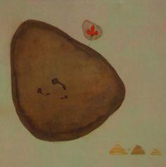 title - Three of them  Size - 33 x 32 inch  Medium - Acryalic on canvas  Price - Rs.45,000/-