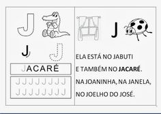Atividades dos anos iniciais : ALFABETO 1º PERÍODO Math, Comics, Words, 1, Alphabet, Initials, Activities, Math Resources, Comic Book