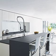 gray and white kitchens   White and grey kitchen   Kitchen ideas   Image   Housetohome
