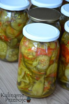 Pickles, Cucumber, Mason Jars, Projects To Try, Food And Drink, Finger Food Recipes, Pickling, Canning, Mason Jar