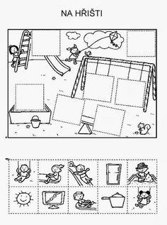 Z internetu - Sisa Stipa - Picasa Web Albums English Worksheets For Kids, Preschool Worksheets, Kids Education, Special Education, Cut And Paste, Teaching Tools, Pre School, Preschool Activities, Kids Learning