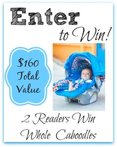 #Giveaway (2) Readers Win Whole Caboodle Sets from Carseat Canopy! ($160 Value)