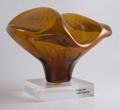 FIORE__ Scultura/sculpture, 1973__ Vetro/glass__ Foto/photo Emanuele Zamponi__ www.linosabattini.com