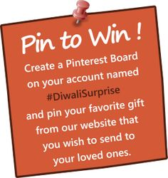 #PinToWin #Diwali #Pinterest #Contest. Come be a part of our Pinterest contest and get a chance to win gifts worth Rs. 1 Lakh. For more details click: https://www.postmygreetings.com/blog/