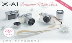 Japan Gets Ultra-rare White Fujifilm X-A1 Only 1,000 of this limited edition variant will be produced