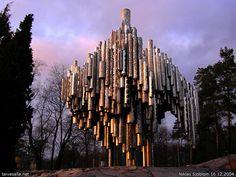 Finland, Helsinki; The Sibelius Monument