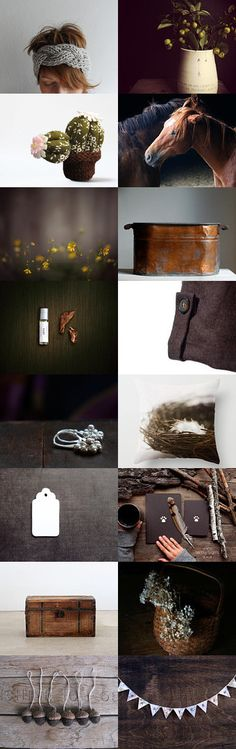 Brownie by Lucia Vils on Etsy--Pinned with TreasuryPin.com