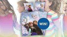 Smulderstextiel.nl speelt voor Sinterklaas tijdens de week van het kinderbeddengoed! Beantwoord 3 vragen en win een Frozen dekbedovertrek! #win #actie #frozen #sinterklaas
