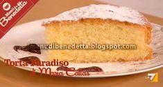 La Torta Paradiso, di cui qui di seguito pubblichiamo la ricetta di Benedetta Parodi, si dice fosse il dolce preferito da Maria Callas, ch...
