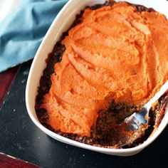 #Recipe: Lentil, Mushroom & Sweet Potato Shepherd's Pie