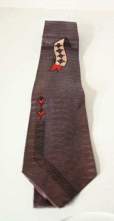 Vintage 1960s Silk Royal Purple Mens by VarietyVintagebyALD, $13.50