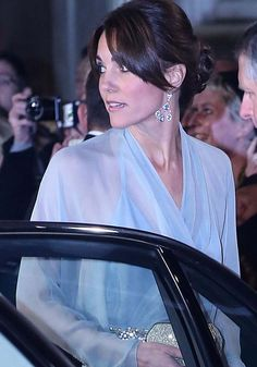 """Kate Middleton Wears Her Most Revealing Outfit to Date at the """"James Bond"""" Premiere in Jimmy Choo"""