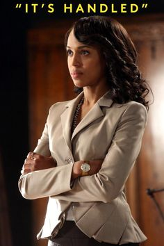 Olivia Pope could probably teach the people in Idlewild a thing or two. #Scandal #Edgewater