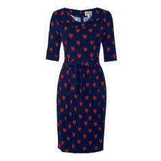 <3 Valentine dress (navy/red) ::by Fever London:: @Noë by Ketch'Up