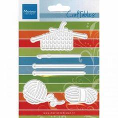 Marianne Designs Craftables Die - Knitting & Woole