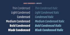 Akko Pro Condensed™ - Webfont & Desktop font « MyFonts