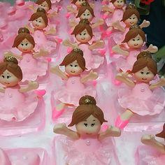 Bailarinas #lembrancinhadebailarina #caixinhasbailarina #biscuit