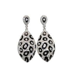 Cheetah Print Jewelry Accessories | Cheetah print rhinestone earrings are fun and sexy. Let the animal ...