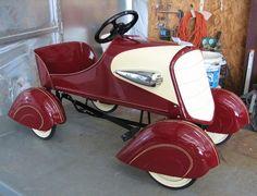 Vintage Pedal Car.