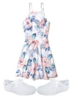 """""""❕❕❕"""" by sydthekyd01 ❤ liked on Polyvore featuring Hollister Co. and Keds"""