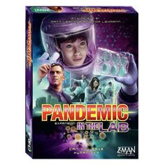 Pandemic: In the Lab | Z-Man Board Games  Behind sealed biohazard doors, scientists race against time to sequence diseases and test cures.  #Board #Game #ZMan #Games #Pandemic #In #The #Lab #Research #Test #Cure #Disease #Team
