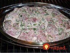 Georgian meat, bake for 1 hour - Pork Tenderloin Recipes, Pork Recipes, Cooking Recipes, Healthy Recipes, Georgian Cuisine, Georgian Food, Armenian Recipes, Russian Recipes, How To Cook Pork