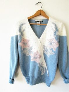Vintage Inspired Acrylic Fiber Sweater