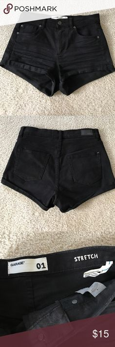 Retro high waisted shorts NWOT high waisted shorts by Garage. No trades. Accepting offers. Garage Shorts