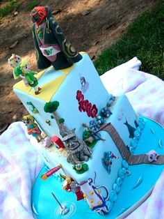 Cake Wrecks - Home - Sunday Sweets: Game On! - 11 Amazing Video Game Cakes