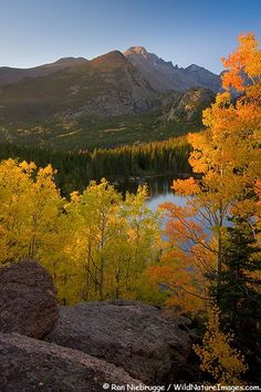 Bear Lake, Rocky Mountain National Park, Colorado; photo by Ron Niebrugge