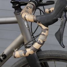 Leh Desert Tan Camo Bar Tape Bicycle Components, Leh, Road Bikes, Camo, Biker, How To Wear, Leather, Veils, Camouflage