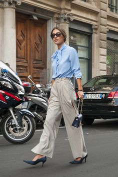 Female Fashion Week SS15 - Patricia Manfield @ Salvatore Ferragamo show #mfw #mfw14 #salvatoreferragamo #fashiontrends #outfitideas