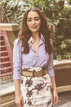 love Emilia Clarke and her style  :)