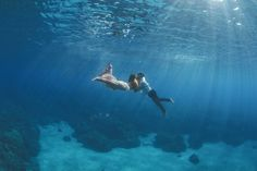 Captivating Underwater Engagement Photos Will Leave You Breathless