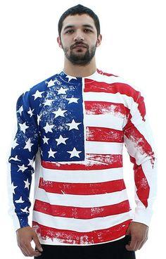 american flag dress pants