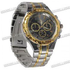 watch Oriando  quartz wristwatch  Wrist quartz watch, new, men, stylish, Stainless steel, grade Oriando, disc diameter - 4 cm Strap length - 23.5 cm, glass - Hardlex