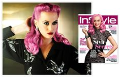 Katy Perry #pink hair #pinup