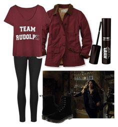 Untitled #598 by nadapierce on Polyvore featuring L.L.Bean and Dr. Martens