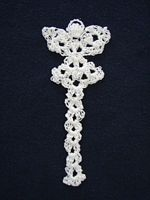 thread angel bookmark crochet pattern-download (some nice preemie patterns here too, plus a nice blanket)